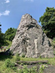 Rock tower Váňa's stone in Kopřivnice