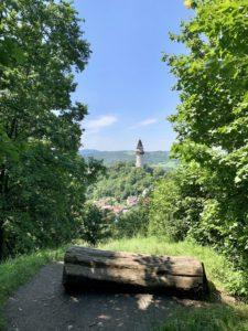 Romantic view of the Štramberk Castle